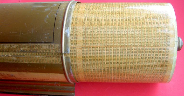 Vista interior del cilindo