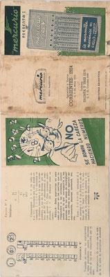 Instrucciones de uso para el ábaco de ranuras MERCURIO