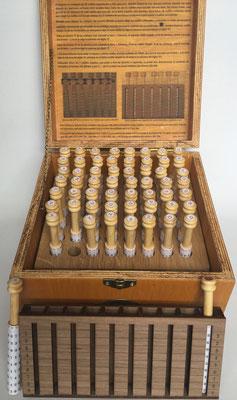 Réplica de los rodillos multiplicativos de FILIPOWSKI de 1860