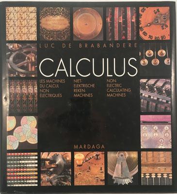 Calculus, Luc de Brabandere, 175 páginas, año 1994, 25x27 cm