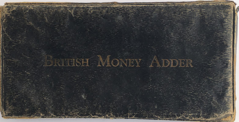 Tapa de la caja British Money Adder