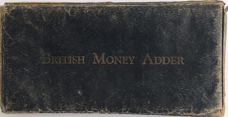 Tapa de la caja British Money Adder