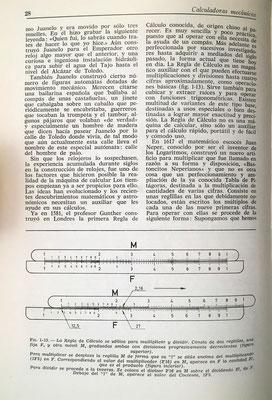 La regla de cálculo como herramienta para la multiplicación y división