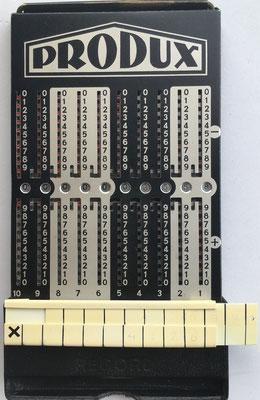 """ábaco de ranuras PRODUX con mecanismo """"Multix"""""""