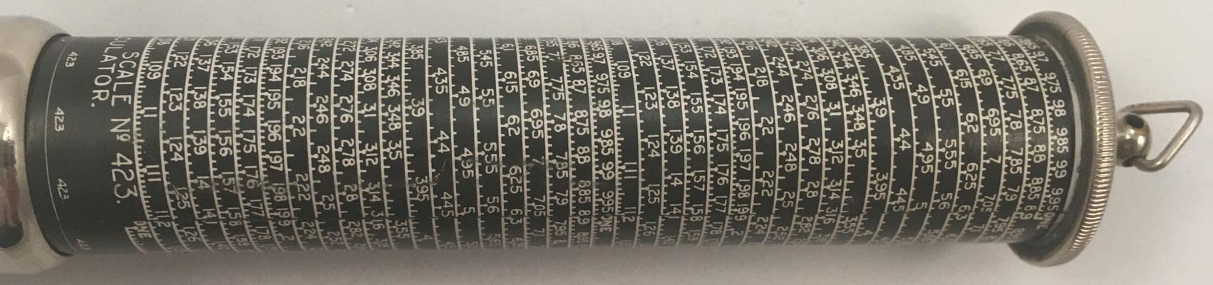 Escala nº 423, Otins King's Pocket Calculator