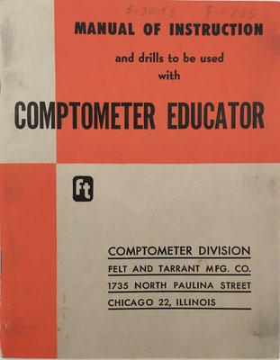Manual de instrucciones y ejercicios para COPMTOMETER EDUCATOR