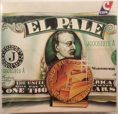 El PALÉ de Cefa-Zaragoza, gran juego de finanzas (calles, casas y hoteles)  con sus accesorios, hacia el año 1980