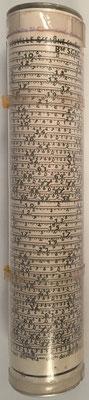 Hélice a Calcul, texto tachado: NEUVILLE S/SAÔNE (RHÔNE)