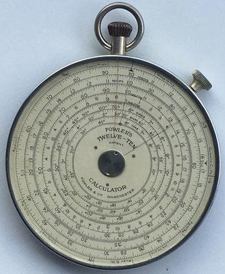 FOWLER'S TWELVE-TEN, fabricado por Fowler & Company en Manchester (England), 8.5 cm diámetro