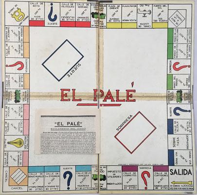 """Tablero de juego e instrucciones de """"El PALÉ"""""""