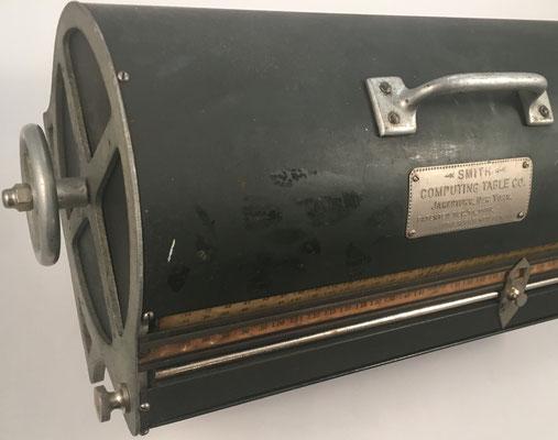 Detalle del cilindro SMITH, ventana con productos inferiores (permite hasta 10x45)
