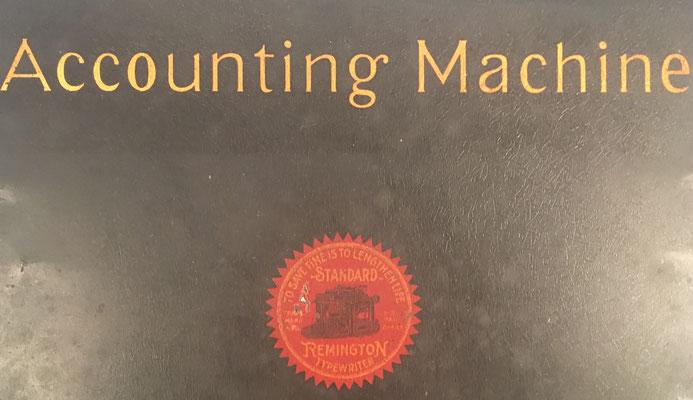 Máquina de escribir REMINGTON para contabilidad