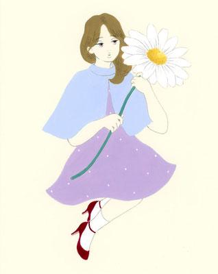 Flower/グリーティングカード想定イラスト