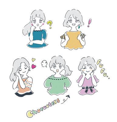 キャラクター/カットイラスト