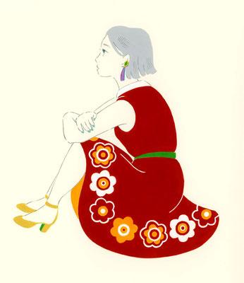 レトロ・フラワー(雑貨のお花)