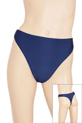 ML-sport24 Damen String Slip Marine