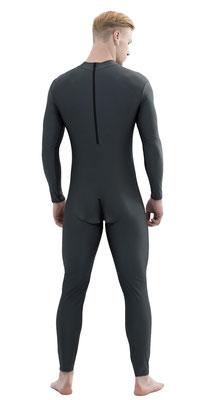 ML-Sport 24 Ganzanzug Rücken- + Schrittreißverschluss Schwarz