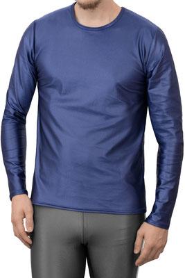 Wetlook T-Shirt lange Ärmel (longsleeve) Comfort Fit Marine