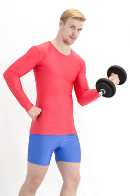 T-Shirt Longsleeve Rot