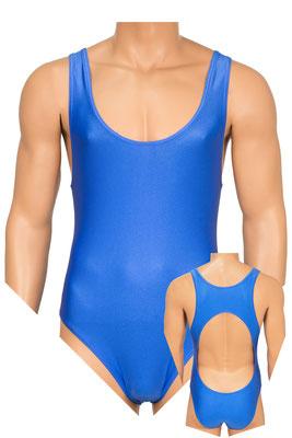 ML-Sport24 Herren Body Boxer freier Rücken royalblau
