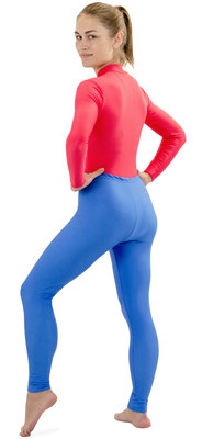 Leggings Royalblau