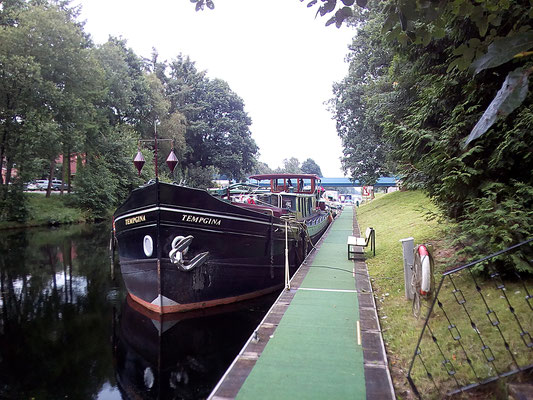 Tempgina in Marcardsmoor am Ems-Jade-Kanal