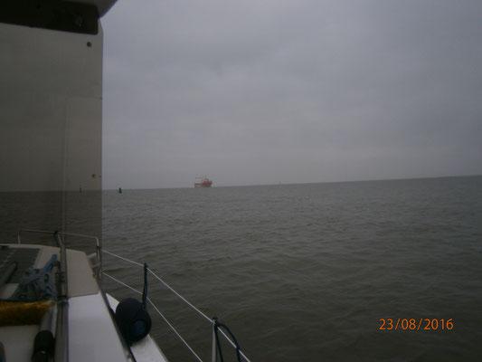 bald erreichen wir die Weser