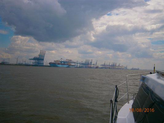 Kurs auf Bremerhaven