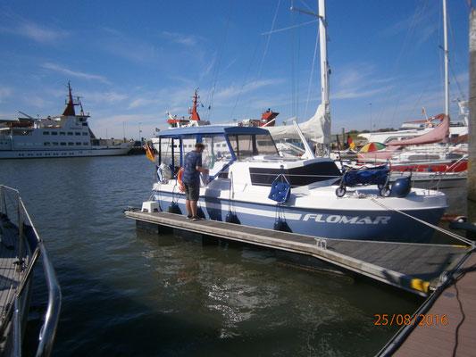 Hafen von Spiekeroog