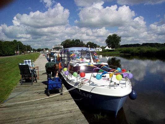 Ankunft zum Seefest in Bad Bederkesa 2016