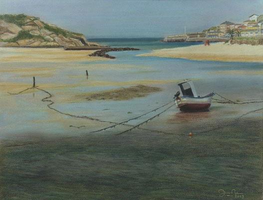 SAN CIBRAO (Lugo) - Pastel sobre papel Canson (46 x 34) - 2013