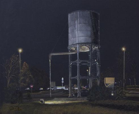 LA ROTONDA DEL DEPOSITO - Pastel sobre papel Canson (50 x 45) - 2019
