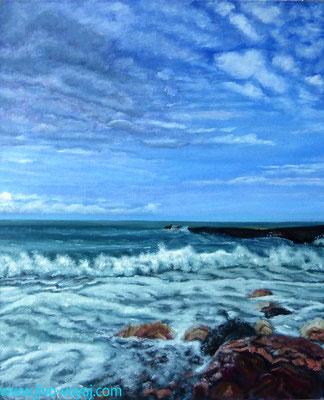 Морской прибой, Песчаное