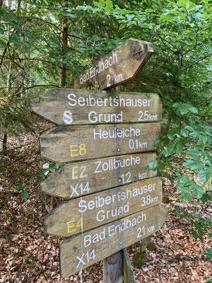 Umgebung Bad Endbach