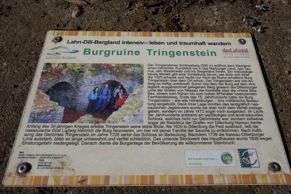 Burgruine Tringenstein