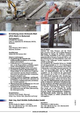 Referenzblatt Rückseite