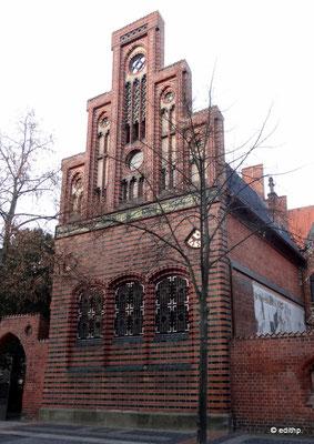 südtliche Fassade des alten Stadtarchivs