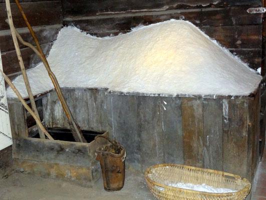 Frisches Salz