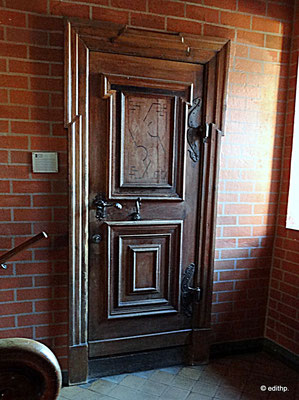 Tür zur kleinen Kommissionsstube
