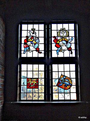 Fenster zum Ochsenmarkt hin
