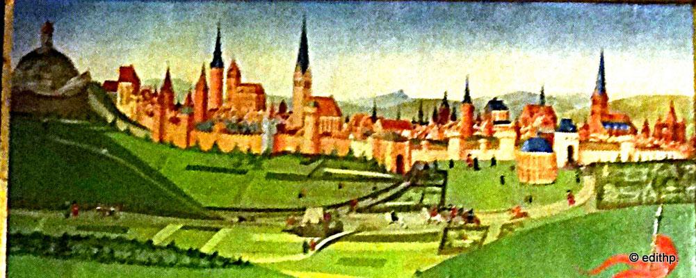 Altarbild Lüneburg Ansicht 1445