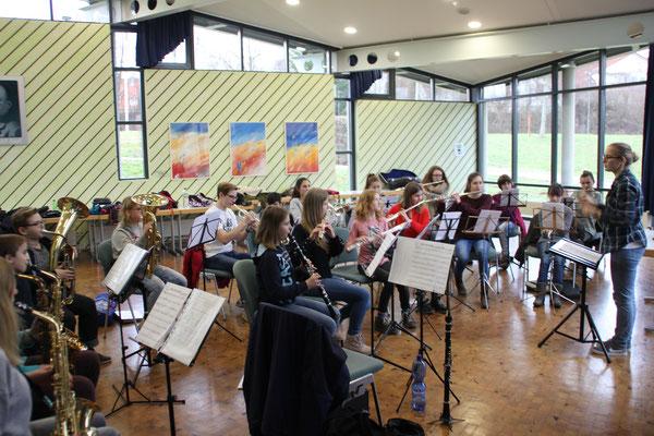 Probenwochenende Schülerorchester