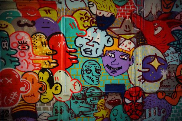 Graffiti Passage du Marché, 10ème