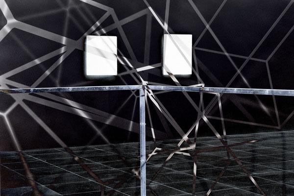 netzwerk mit lichteinfall