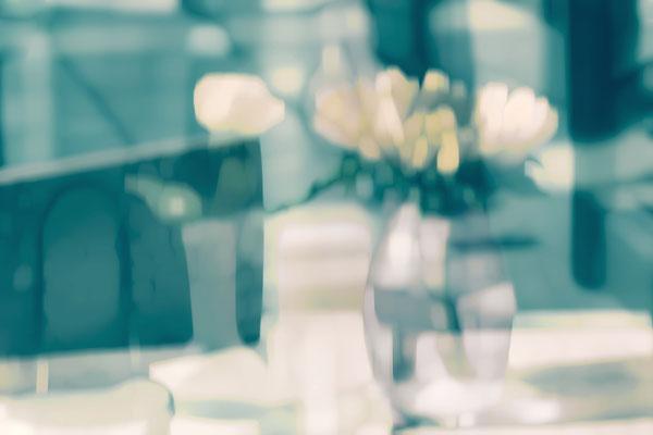 die vase auf dem tisch