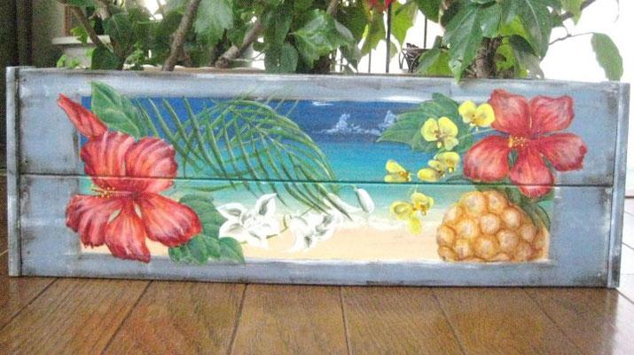 花鉢(南国風)