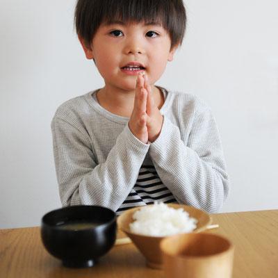日本の食卓にしっくりくるデザイン(写真はしらさぎ椀Sとなっています)