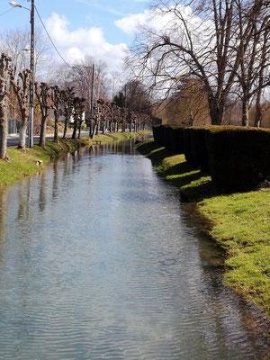 Le canal Oudot  en centre ville
