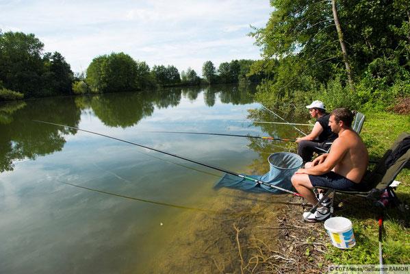 la pêche entre amis ou en famille.