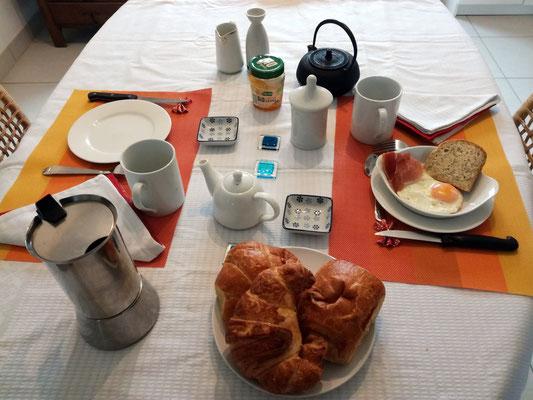 Autre petit déjeuner.